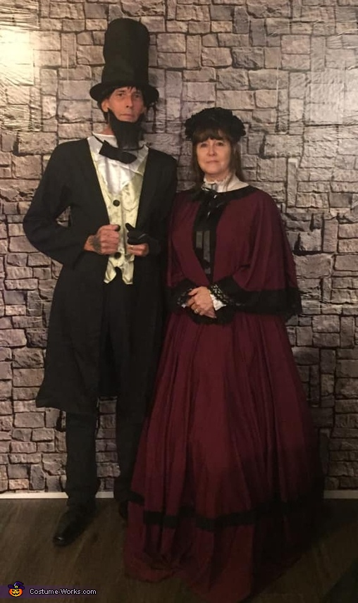 Mr. and Mrs. Abraham Lincoln Costume