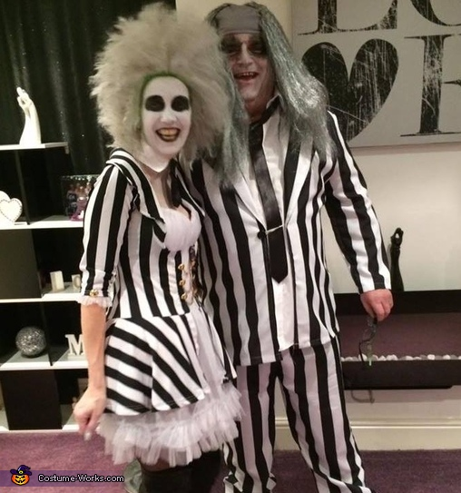 Mr And Mrs Beetlejuice Couple Costume