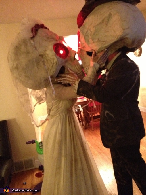 So in love even in after life!, Mr. and Mrs. Bobble Costumes