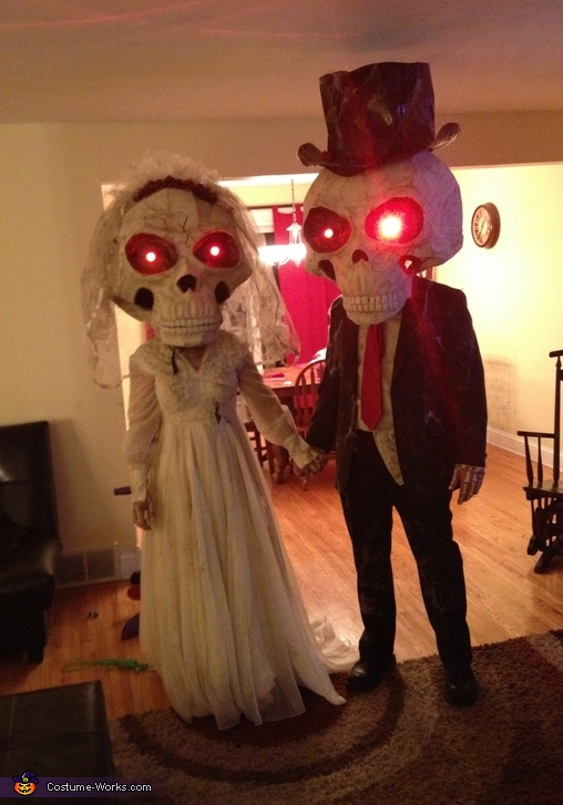 Mr. and Mrs. Bobble Costumes