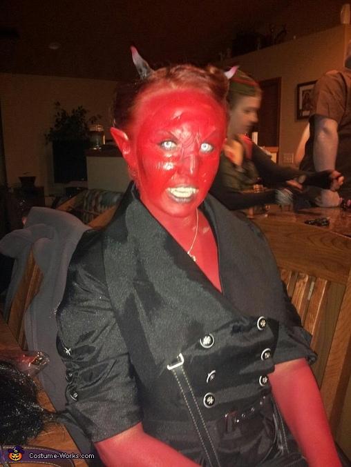 Mrs. Devil, Mr. and Mrs. Devil Costume