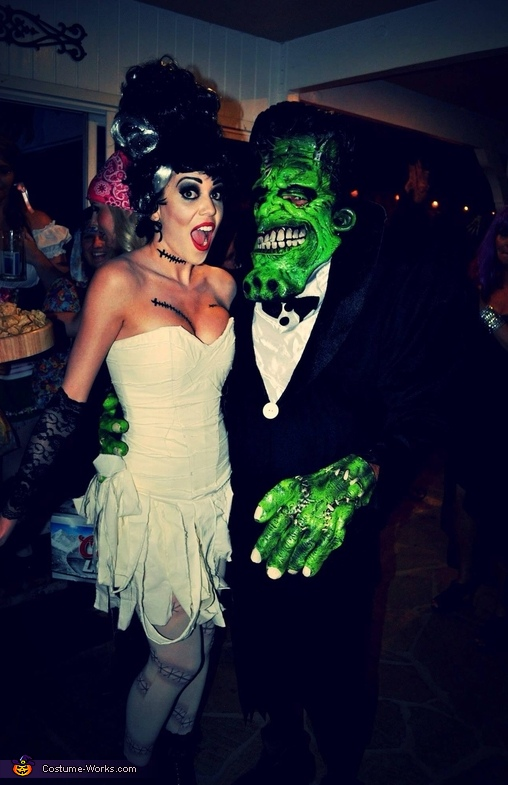 Mr. and Mrs. Frankenstein Costume