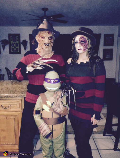 Mr and Mrs Freddy Krueger Costume