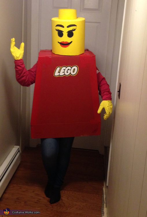 Mr. and Mrs. Lego Homemade Costume
