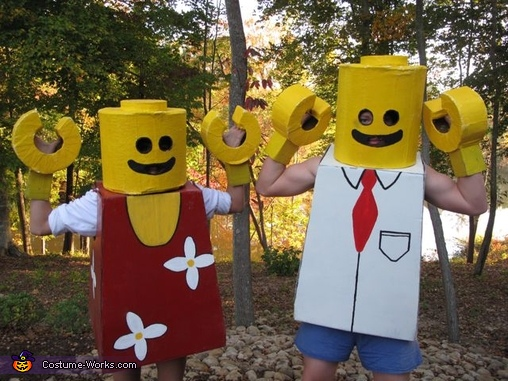 Mr. and Mrs Lego, Mr. and Mrs. Lego People Costume