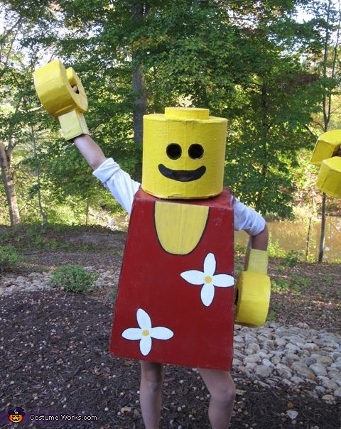 lego Girl! , Mr. and Mrs. Lego People Costume