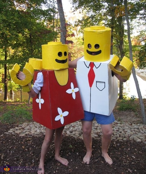 Mr. and Mrs. Lego People Costume