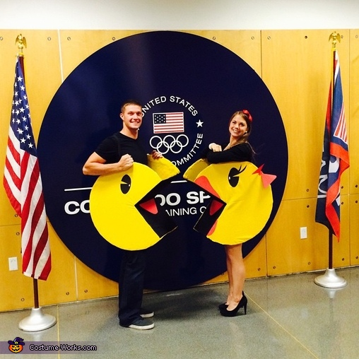 Mr. and Mrs. Pacman Costume