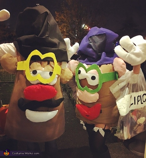 Mr. and Mrs. Potato Head Costume