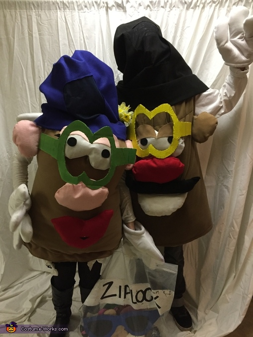 Mr. and Mrs. Potato Head Couples Costume
