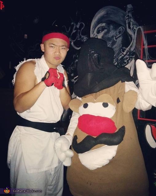 Mr. and Mrs. Potato Head Couples Costume