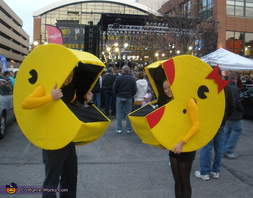 Mr. and Ms. Pacman Costume
