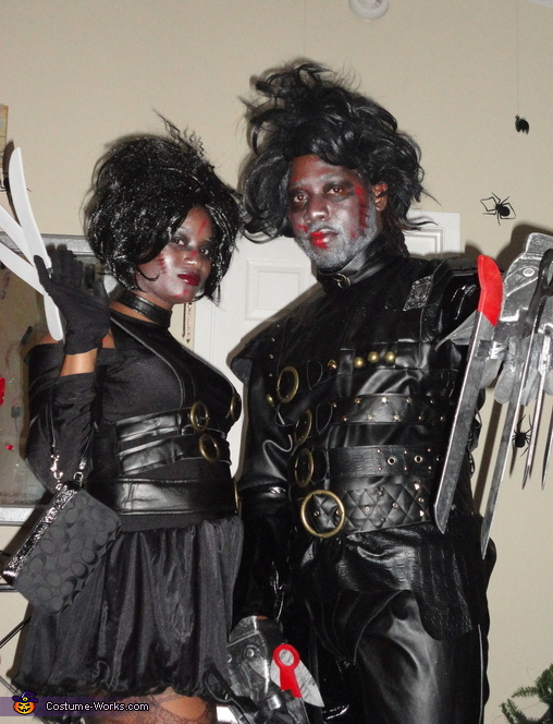Mr and Ms Scissorhands Costume