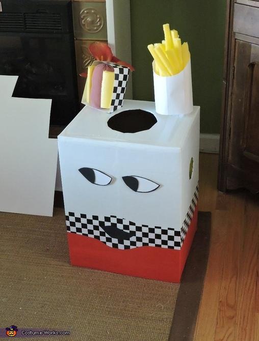 Mr. Bag Homemade Costume