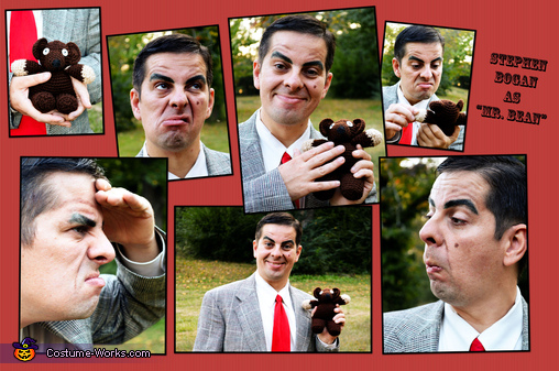 Mr. Bean Homemade Costume