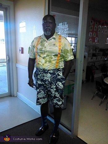 Mr. Brown Homemade Costume