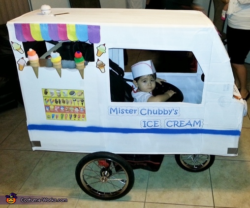 Mr. Chubby's Ice Cream Costume