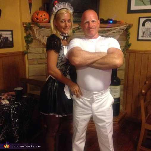 Mr. Clean and his Maid Couples Costume