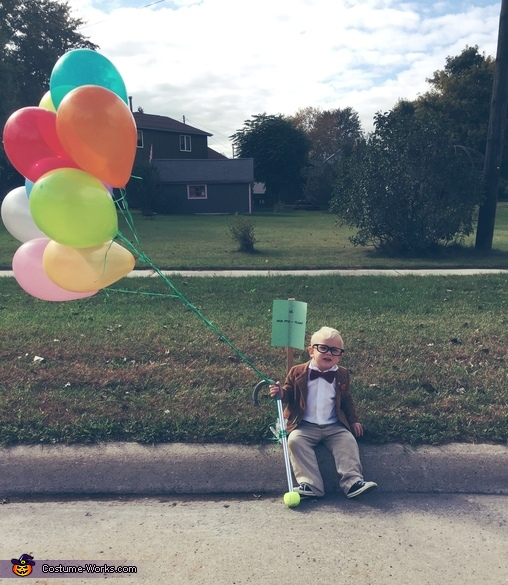 You youngsters stay off my lawn!, Mr. Frederickson Costume