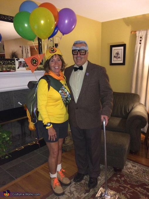 Mr. Frederickson and Russell Costume