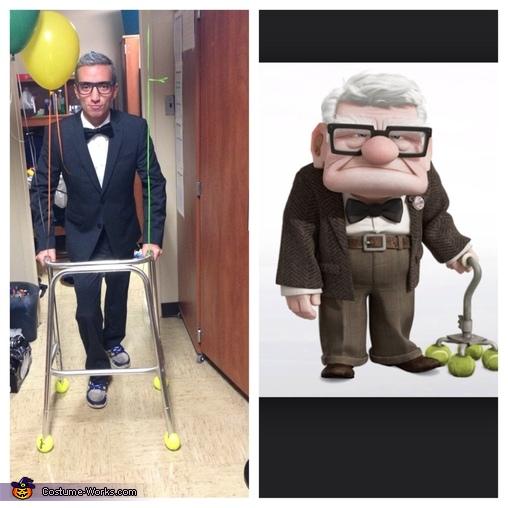 Mr. Fredricksen Homemade Costume