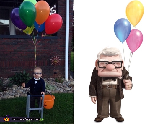 Mr. Fredrickson Homemade Costume