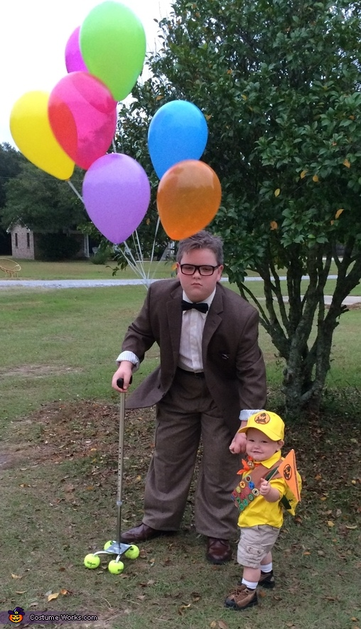 "Mr. Fredrickson and Russell from ""Up"" Costume"