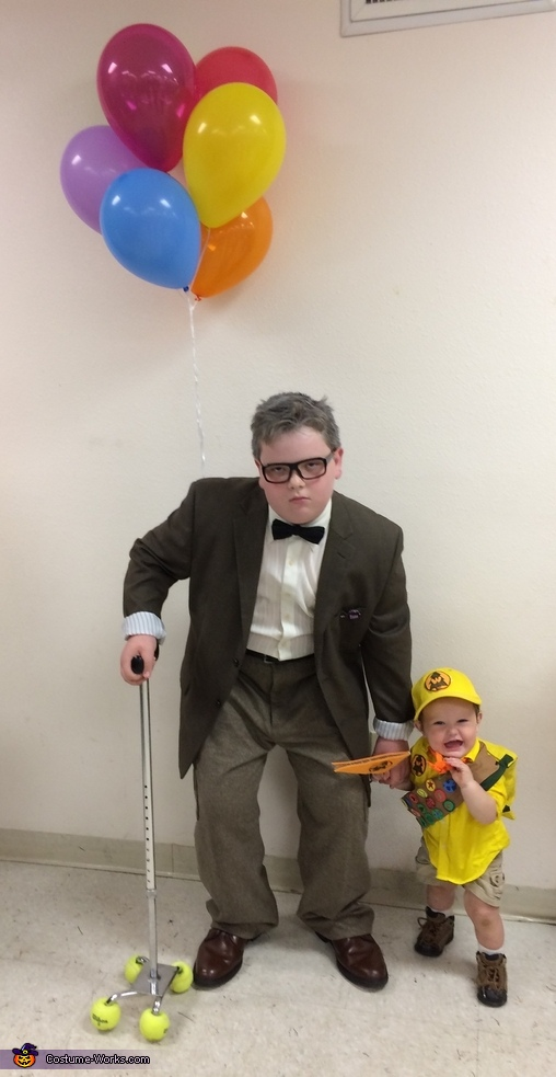 Mr. Fredrickson and Russell Homemade Costume