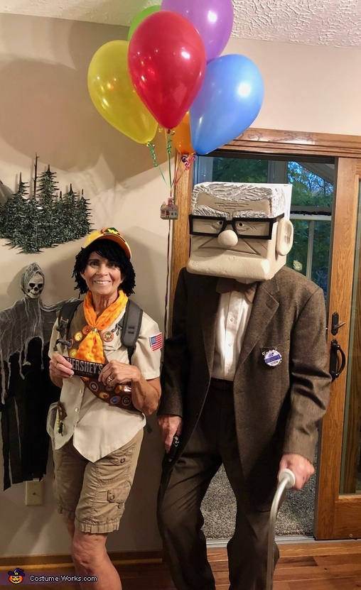 Mr Fredrickson and Russell Costume
