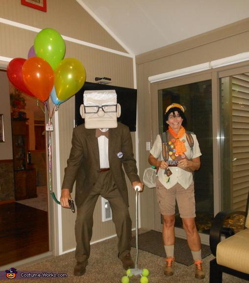 Wilderness Explorers, Mr Fredrickson and Russell Costume