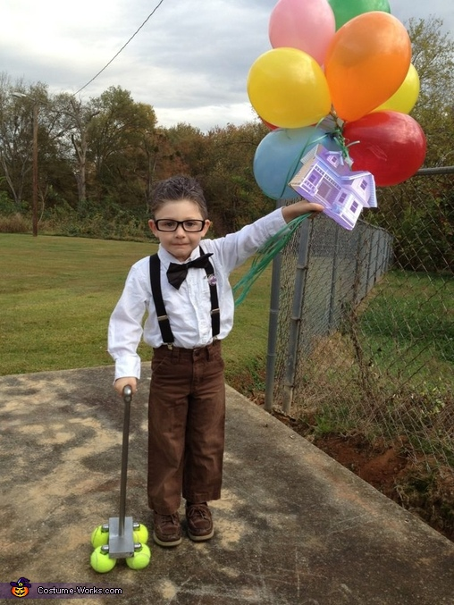 Mr. Fredrickson from Pixar's UP Costume
