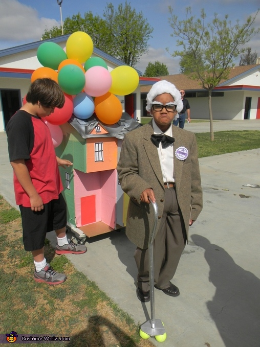 & Mr. Fredrickson from the movie Up Costume