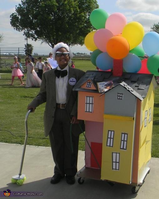 Mr. Fredrickson from the movie Up DIY Costume