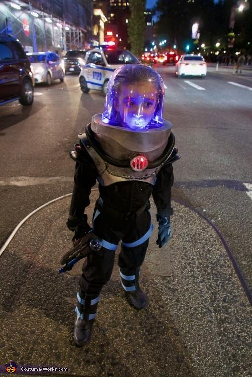 Night time 1, Mr. Freeze Costume