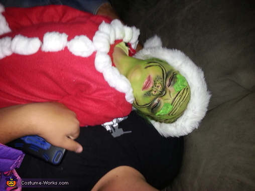 Stealing Christmas must be hard work!, Mr. Grinch Costume