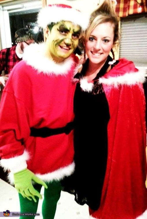 Mr. Grinch and Cindy Lou Who Costume