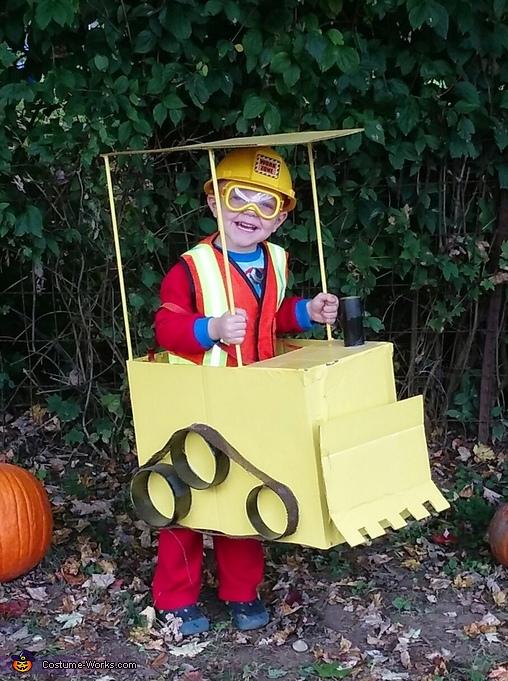 Mr. Handsome Construction Costume