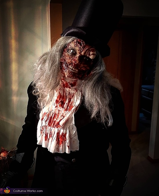 Mr. Hyde Homemade Costume