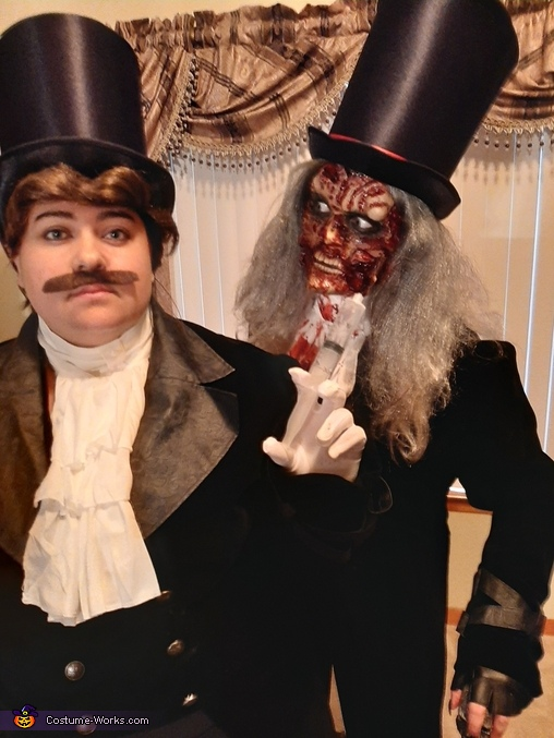 Mr. Hyde Homemade Costume