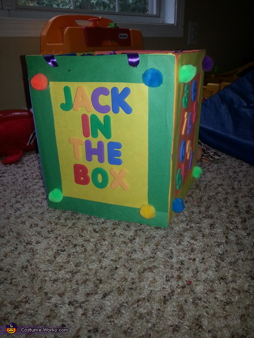 The box, Mr. Jack in the Box Baby Costume