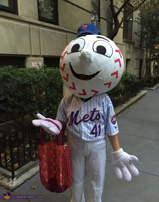 Mr. Met, Mr. Met Costume