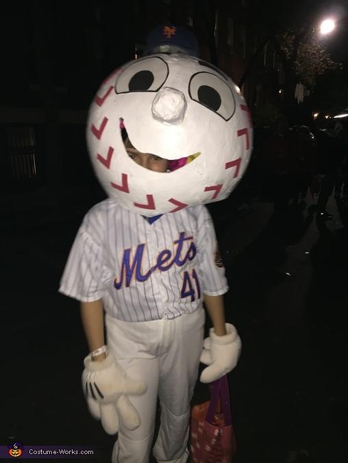 Mr. Met, Mr. Met Costume