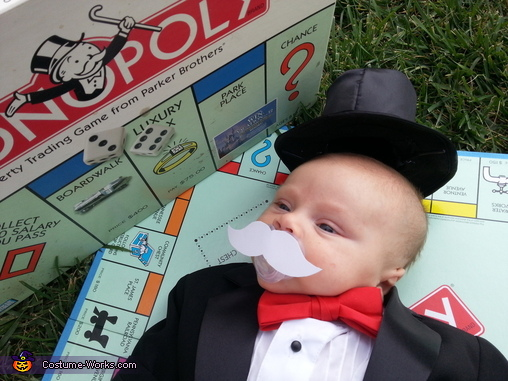 Mr. Monopoly Baby Costume