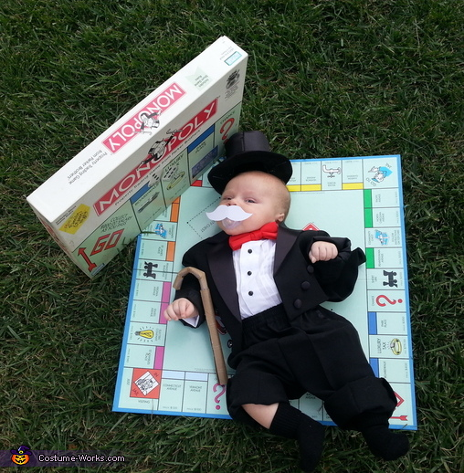 Mr. Monopoly the whole thing, Mr. Monopoly Baby Costume