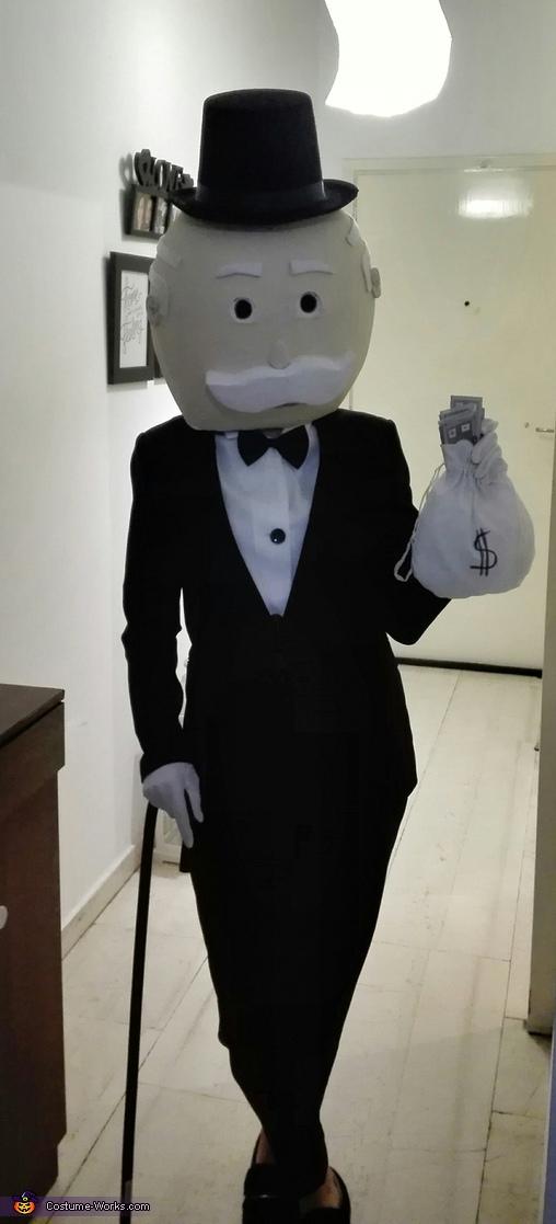Mr Monopoly Costume
