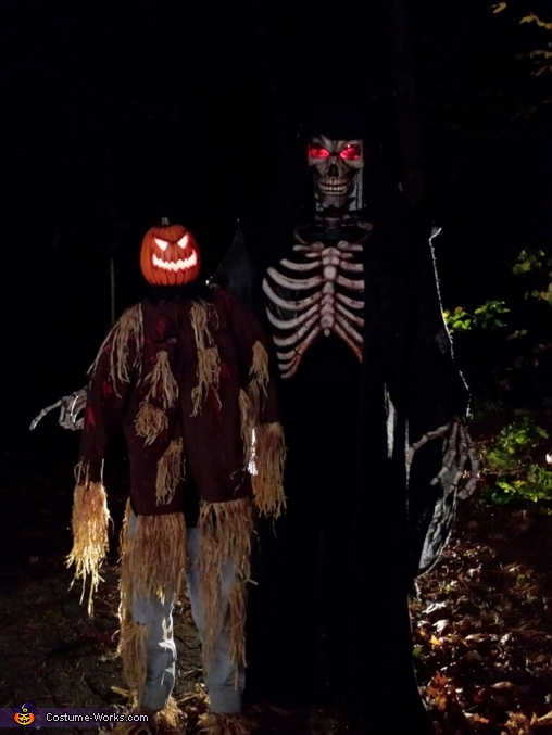Mr & Mrs Creepy Costume