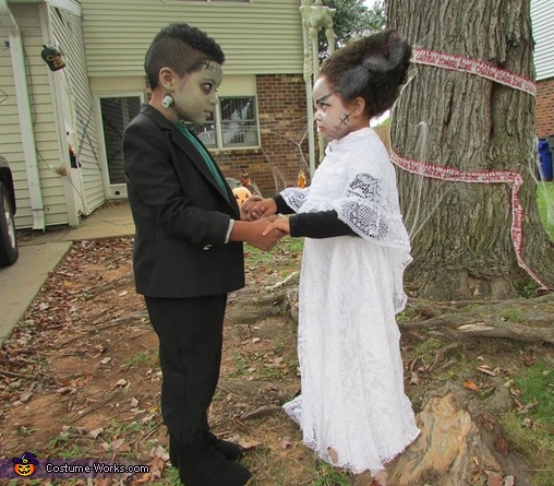 Mr. & Mrs. Frankenstein Costume