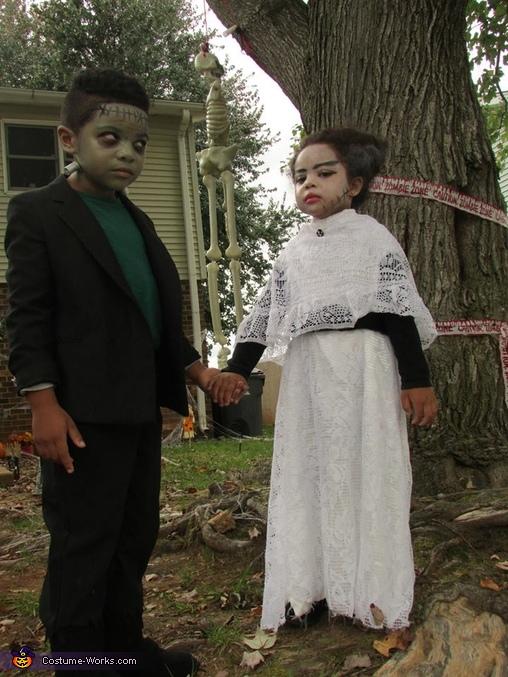 yep thats us., Mr. & Mrs. Frankenstein Costume