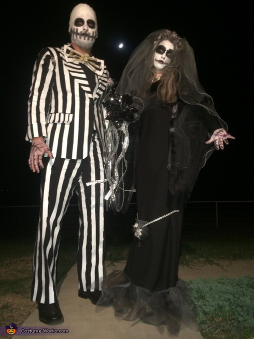 Mr. & Mrs. Jack Skellington Couples Costume