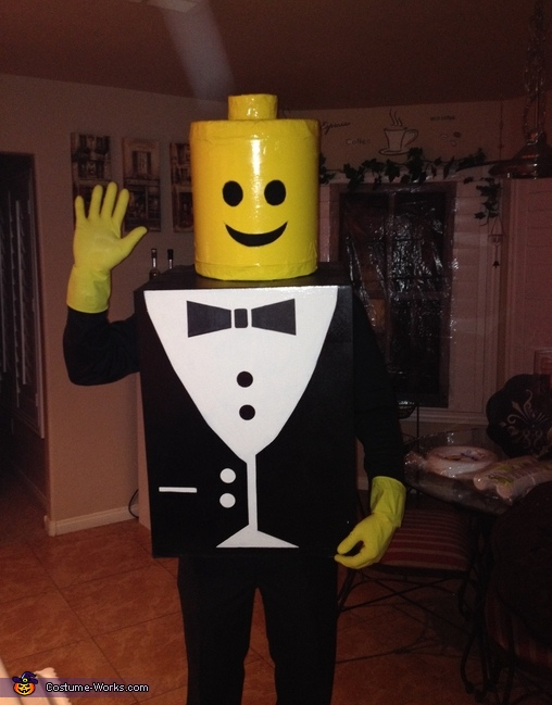 Mr & Mrs Lego DIY Couple Costume